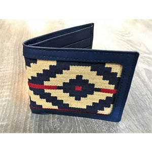 Gaucho Polo Wallet - Blue Pampa