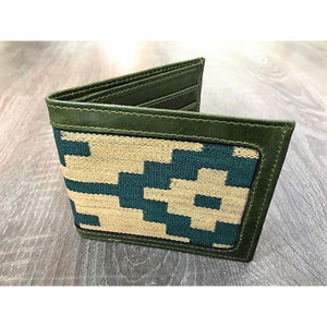 Gaucho Polo Wallet - Green Pampa