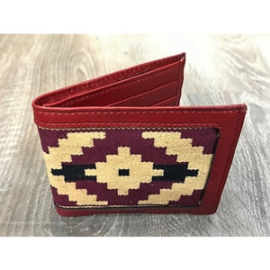 Gaucho Polo Wallet - Red Pampa