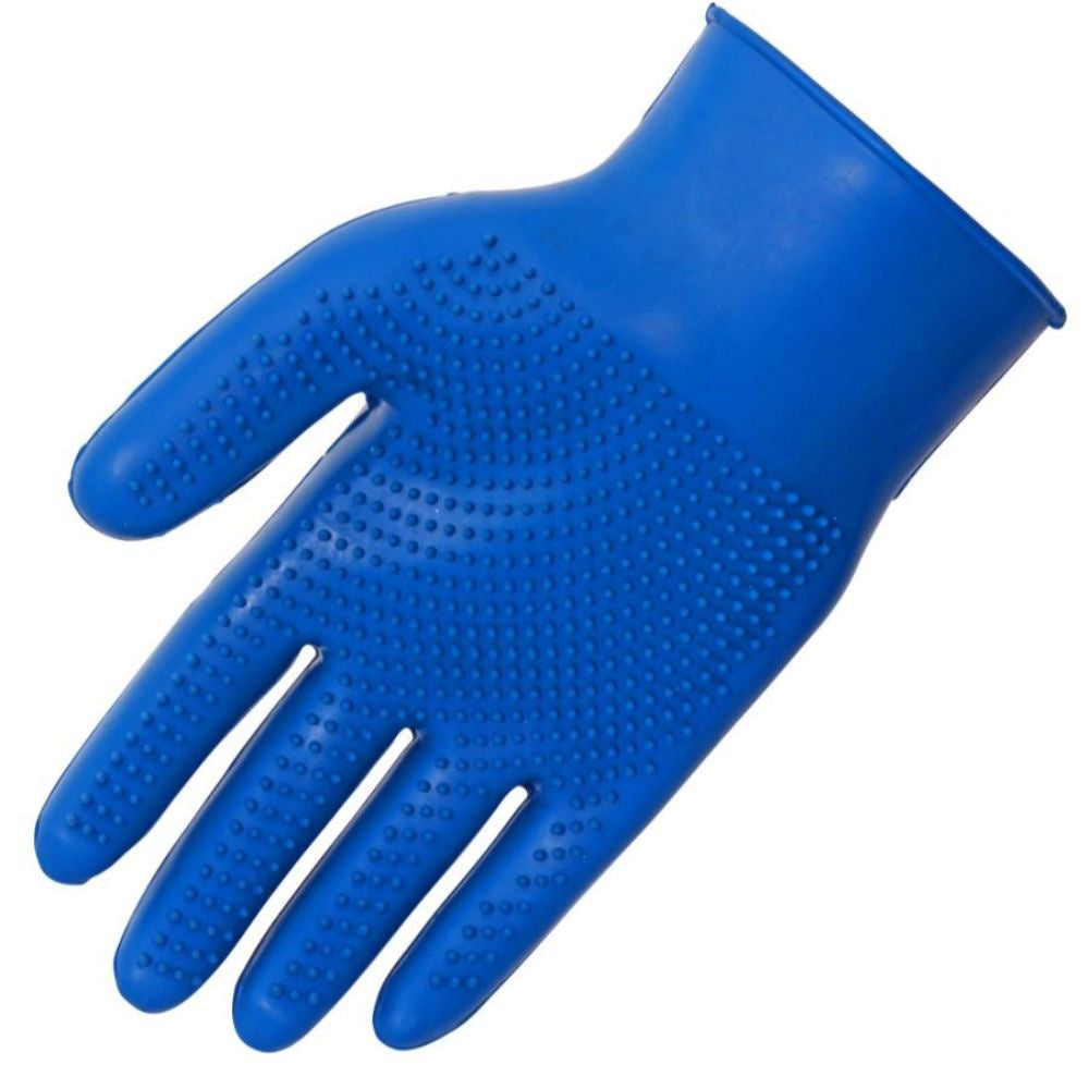 Blue Tag Fine Pimple Grooming Glove