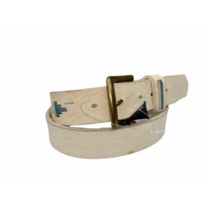 Agripina Polo Raw Hide Belt