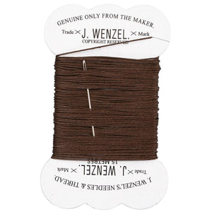 Mane Plaiting Thread Brown