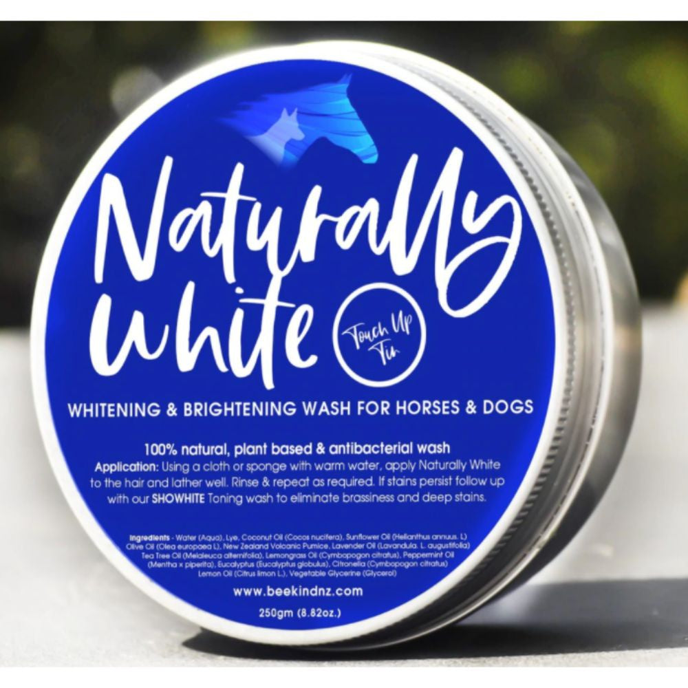 Bee Kind Naturally White Touch up Tin