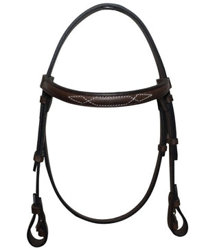 Polo Gag Bridle Headpiece incl browband