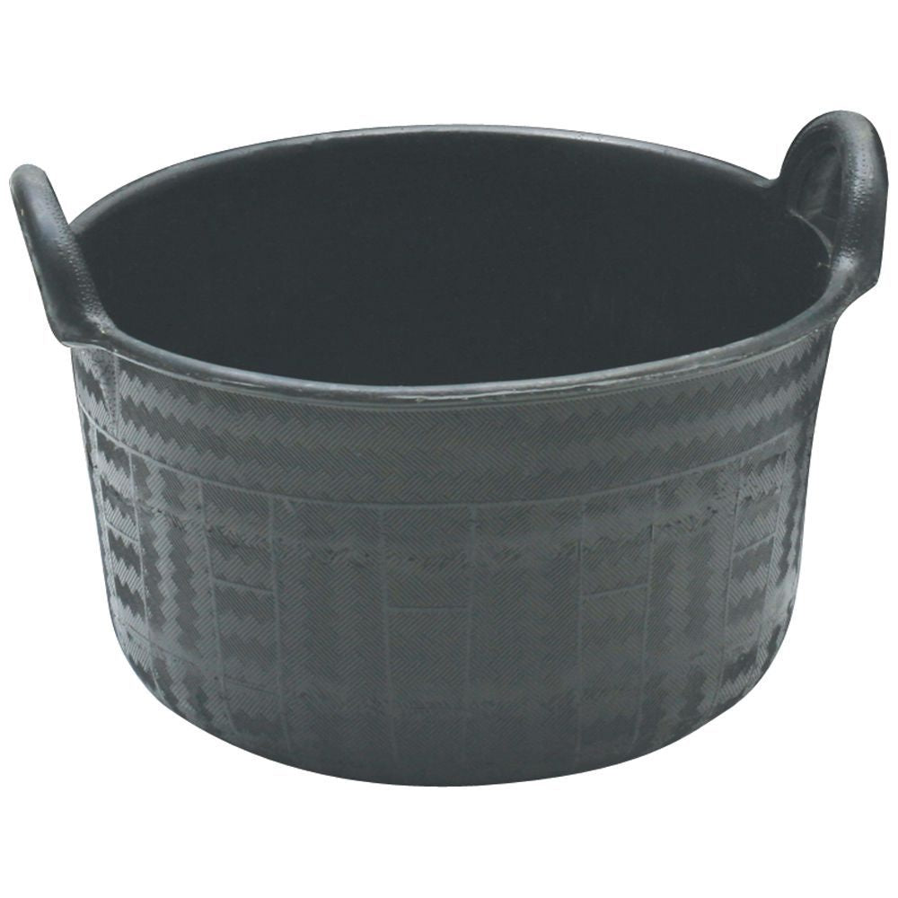 Feed Tub Recycled Rubber 34L with 2 Handles