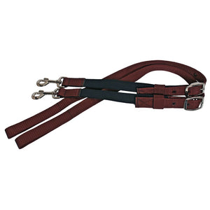 Blue-Tag-Side-Reins-Brown