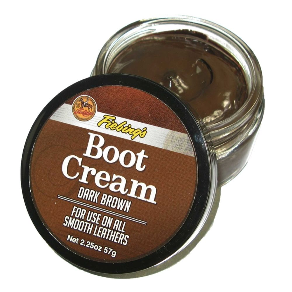 Boot Cream Polish (Dark Brown) 2.5oz