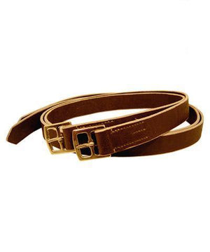 "1.25"" Buffalo Hide Polo Stirrup Leathers"