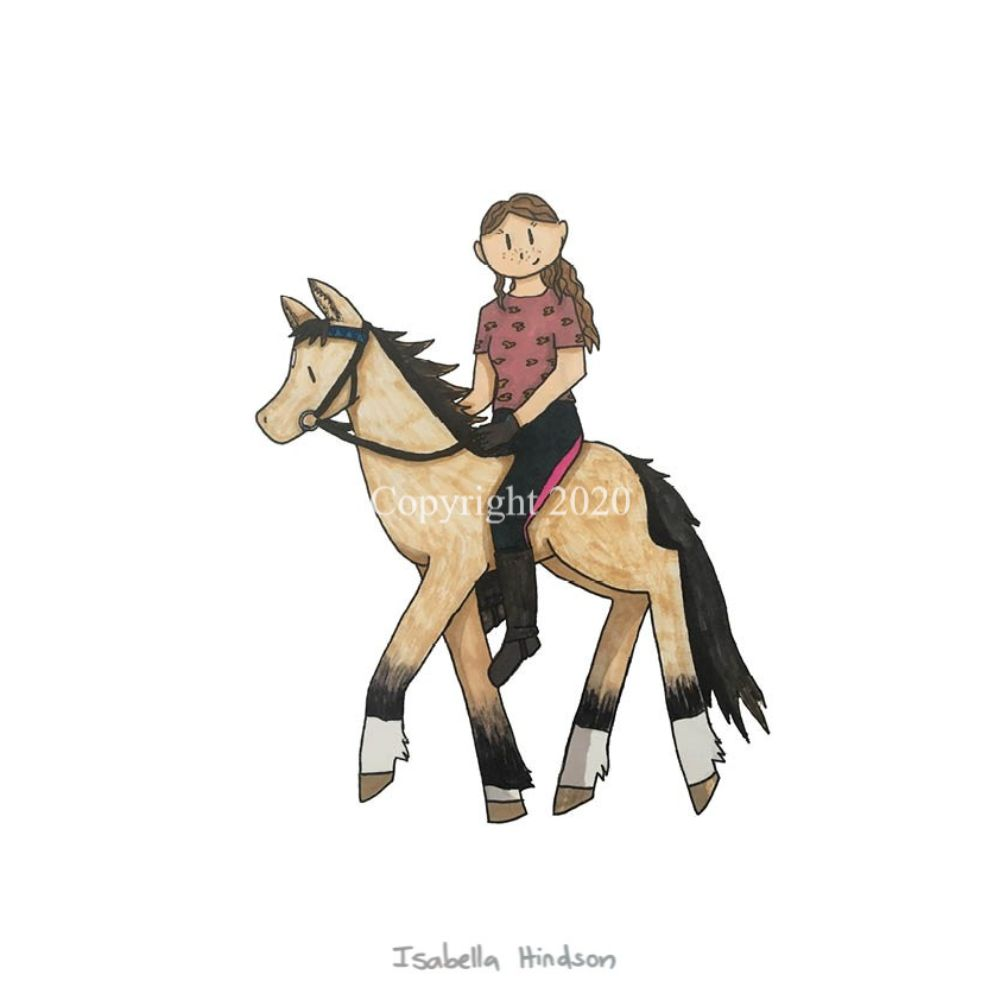 Isabella Hindson Greetings Card Nomad
