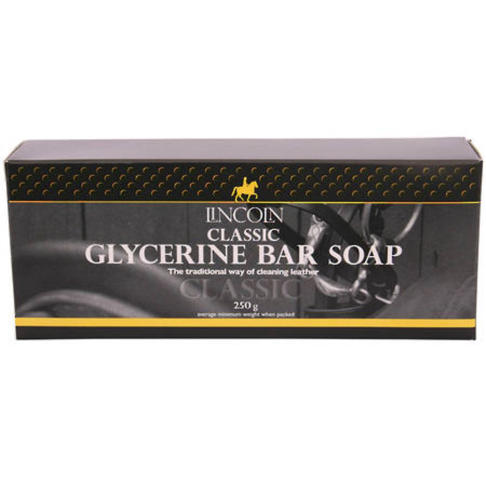 Lincoln Glycerine Saddle Soap Bar - 250g
