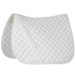 Roma Grand Prix Saddle Pad White