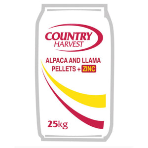 Country Harvest Alpaca and Llama Pellets with Zinc