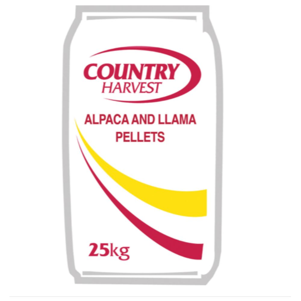 Country Harvest Alpaca and Llama Pellets (No Zinc)