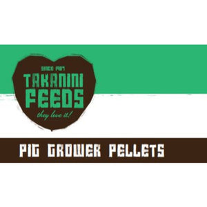 Takanini Feeds Pig Grower Pellets