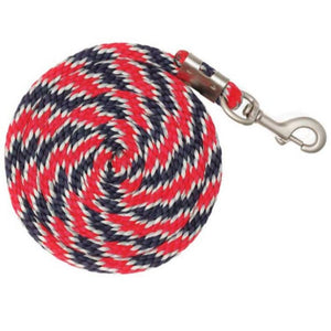 Braided Nylon Lead - Various Colours
