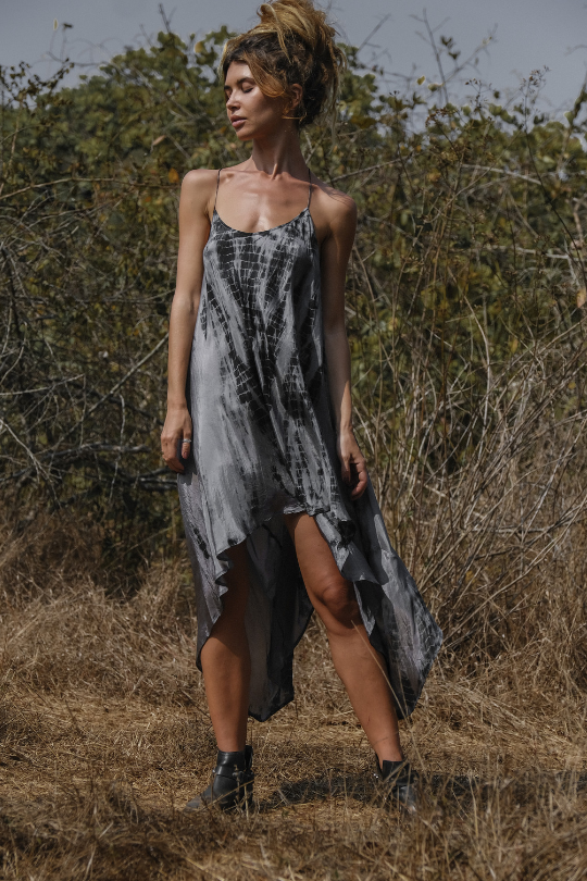 ZEN DRESS • SHADOW TIE DYE