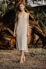 Load image into Gallery viewer, GIGI SLIP DRESS SAND