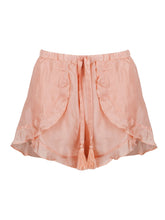 Load image into Gallery viewer, FRILL SHORTS • DUSTY PINK
