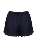 FRILL SHORTS • BLACK