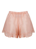 FRILL SHORTS • DUSTY PINK