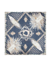 Load image into Gallery viewer, SILK SCARF • PEACOCK