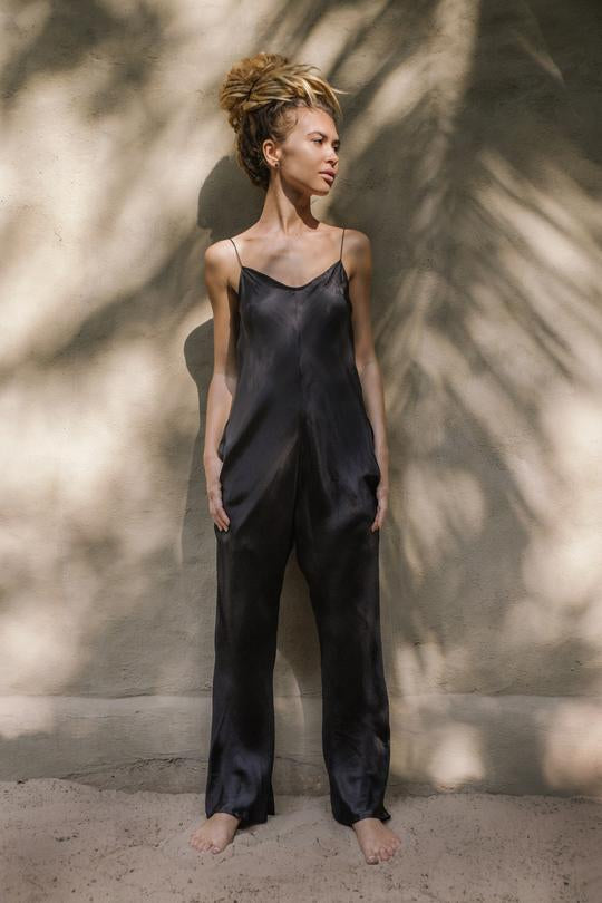 JAIPUR JUMPSUIT • BLACK