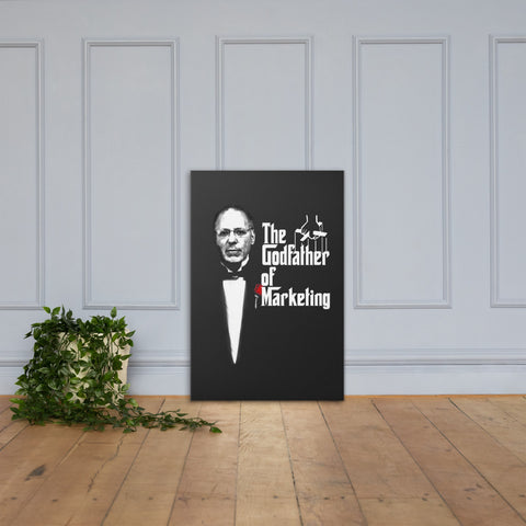 The Godfather of Marketing Canvas Print