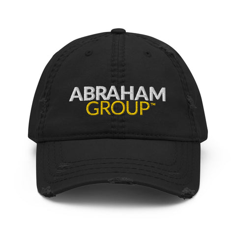 Abraham Group Distressed Dad Hat