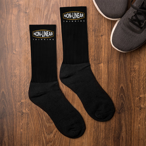 Non-Linear Thinking Socks