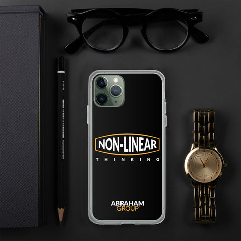 Non-Linear Thinking iPhone Case