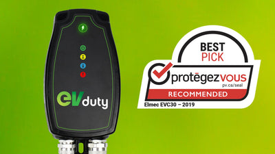 <b>The EVduty charging station earns «BEST PICK PROTÉGEZ-VOUS» mention</b>