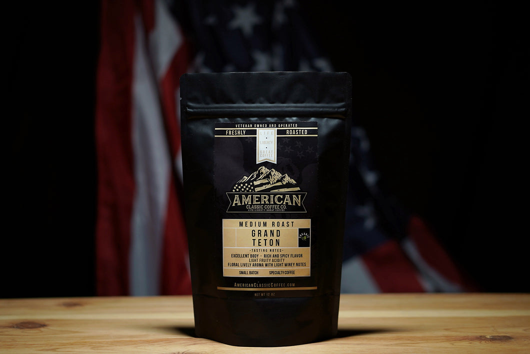 Grand Teton Organic | Medium Roast