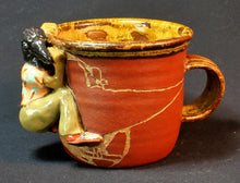 Load image into Gallery viewer, Common Raven Stoneware Mug by Jenny Reeves-Johnson