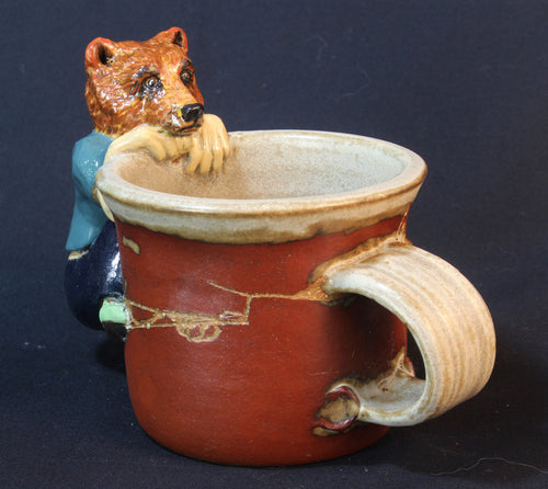 Grizzly Bear Stoneware Mug by Jenny Reeves-Johnson