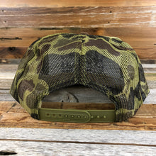 Load image into Gallery viewer, Wyoming Wildlife Federation Foamie Trucker Hat- Camo