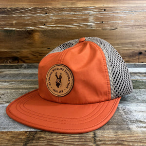 Wyoming Wildlife Federation Rogue Hat- Orange