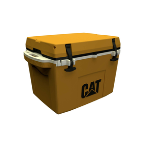 Cat Yellow cooler 27 left side