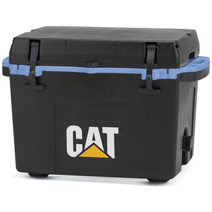 27 Quart Cooler Blue Collar Black - Catcoolers