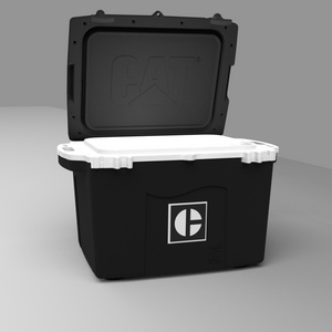 27 Quart Cooler C Block Black - PREORDER shipping July 13th