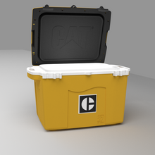 Load image into Gallery viewer, 27 Quart Cooler C Block Yellow - PREORDER shipping July 13th