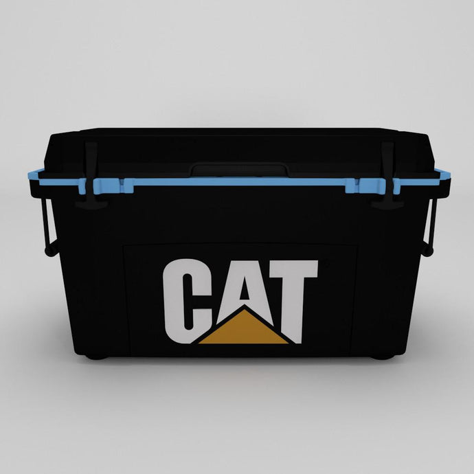 55 Quart Cooler Blue Collar Black