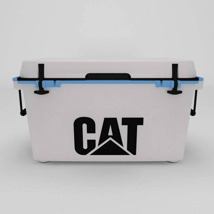 55 Quart Cooler Blue Collar White
