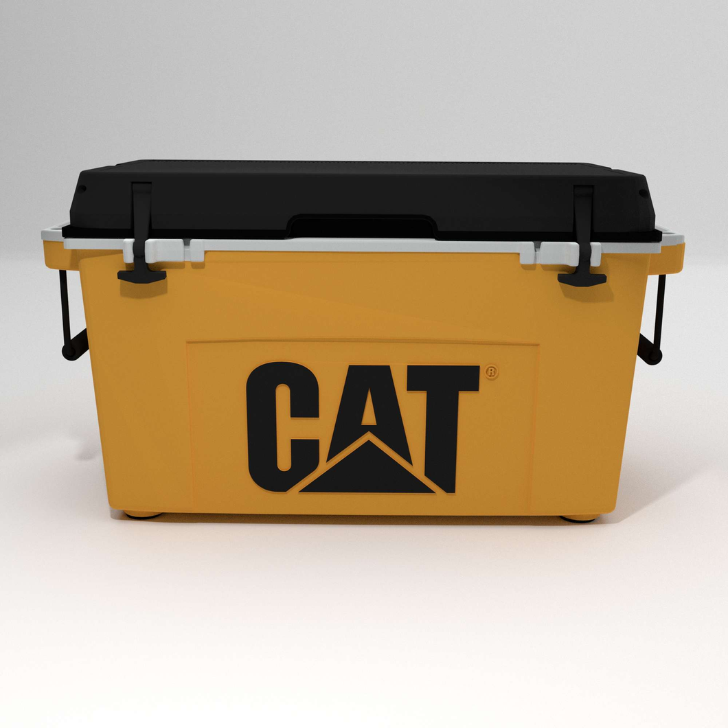 55 quart Cat Cooler Custom Design