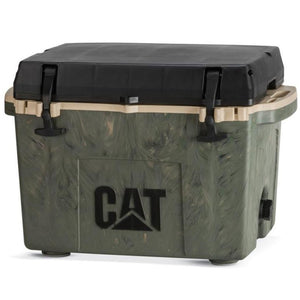 27 Quart Camo Cooler- Cat Coolers