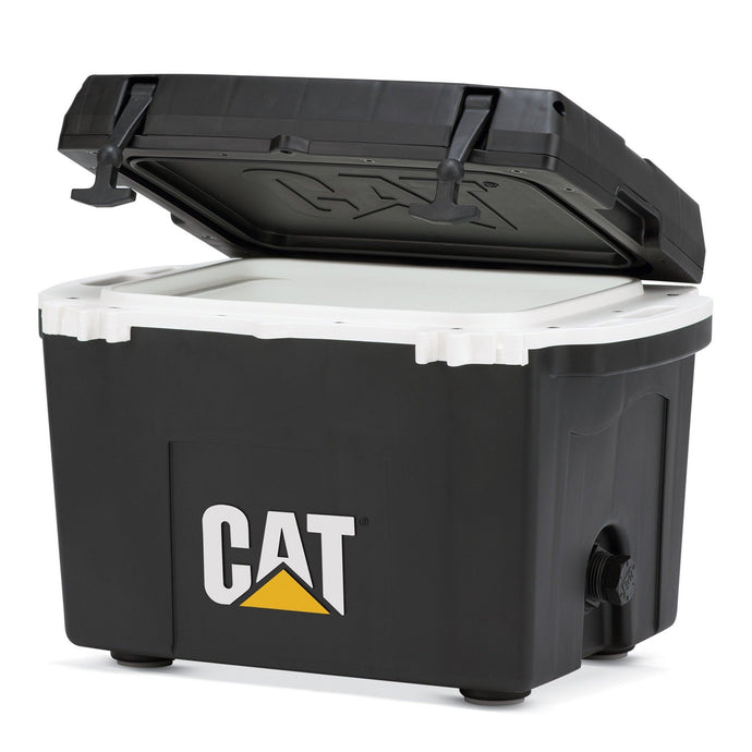 27 Quart Cooler Black - Catcoolers