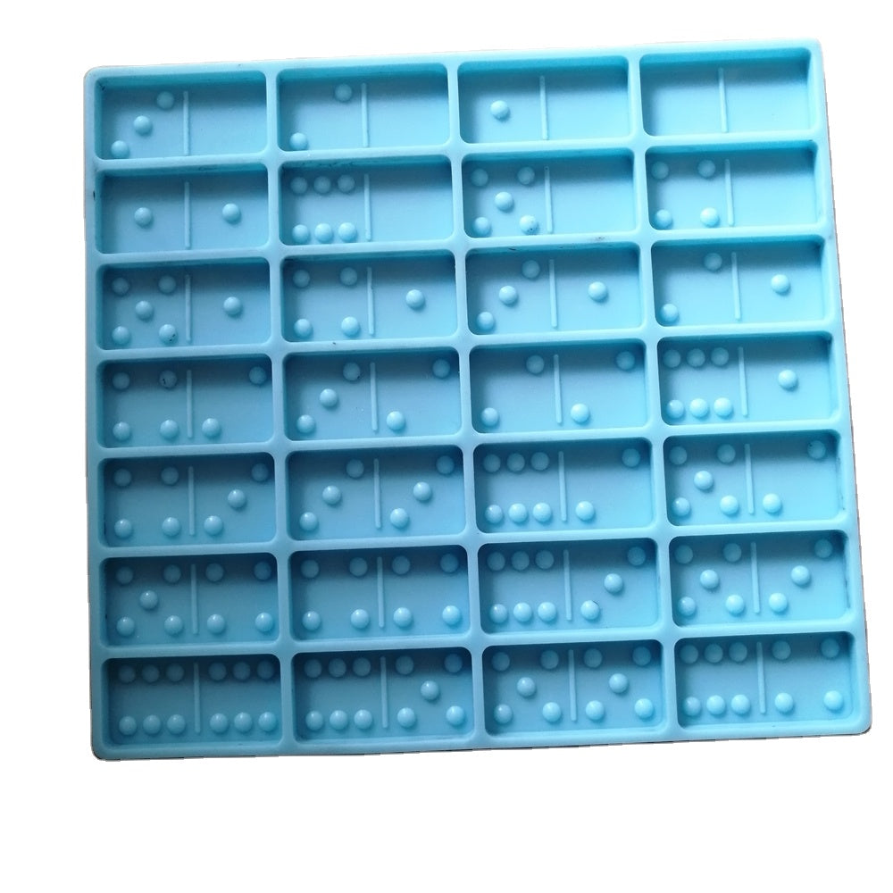 Domino Resin Mold with Train