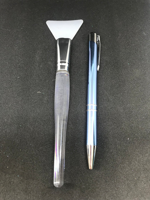 Silicone Brush Clear Handle