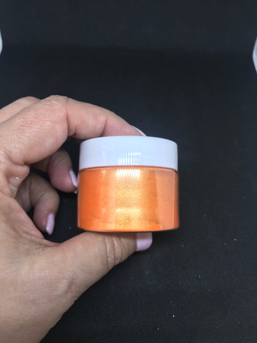 Orange Pealr Mica