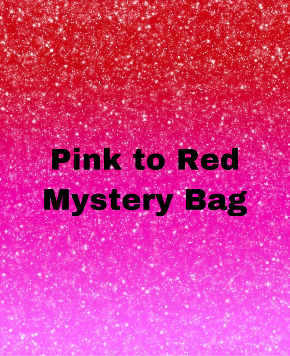 Pink to Red Mystery Bag