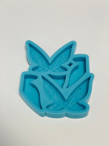 Butterfly Straw Topper Mold #5